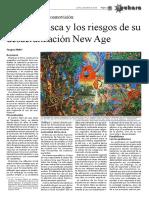 La Ayahuasca y los riesgos de su desacralizacion
