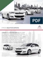 Citroen C4 B7 Edition Brochure