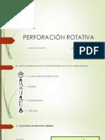 Perforación Rotativa