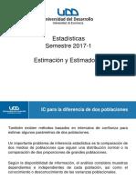 2017-04-11 Estimación y Estimadores, IC Dos Muestras