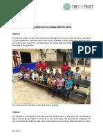Monthly Achievement Report Playa Del Carmen July 2017