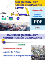 "Manejo de Materiales Introducciã""n Utec-egg 24 Enero 2014"