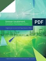 Rapport du Conseil de planification pour une université de langue française
