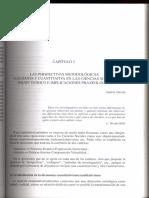 Las perspectivas metodológicas cualitativas y cuantitativas en las ciencias sociales, debate teórico e implicaciones praxeológicas.