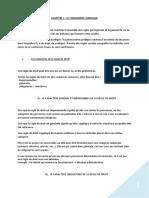 Chapitre 1, Le Phénomène Juridique