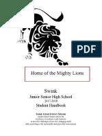 17-18 jrsr high school handbook