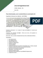 Pisos Intertravados, Usos e Características Na Construção Civil