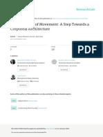 Maria da Piedade Ferreira - The Grammar of Movement a Step Towards a Corporeal