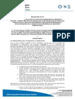 Resolucion 013 de 2012