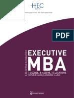 Brochure EMBA FR