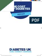Diabetes UK Cost of Diabetes Report