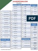 Form Acls Algorithms Com Checklist
