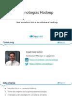 Introduccion a Hadoop UV ES