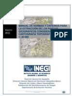 A_14_INEGI (2012) Manual de Normas y Criterios Para La Extracción de Rasgos Geograficos