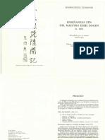 Shobogenzo Zuimonki Dogen 1
