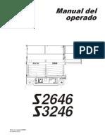 Manual de Operacion Plataforma s2646 y s3246