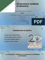2.3 Estándares y Métricas de Calidad en La Ingenieria de Software, Equipo1