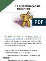 2 - Treinamento Analise e Investigacao de Acidentes