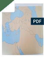 Mapa de Medio Oriente