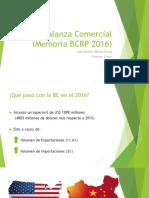 Balanza Comercial de Perú
