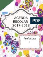 AGENDA 17-18 Mariposa