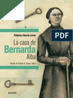 La Casa de Bernarda Alba Actividades