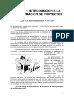 UNIDAD 1 Introduccion a la Administracion de Proyectos.pdf