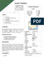 Condado de Richmond (Virginia) - Wikipedia, La Enciclopedia Libre