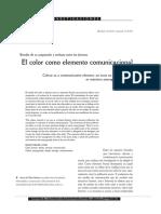 BARBERO- El Color Como Elemento Comunicacional