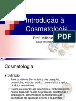 01 - Introdução à Cosmetologia