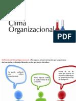 Clima Organizacional y Comunicación Asertiva