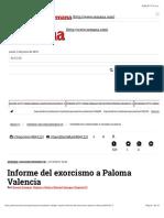 Informe Del Exorcismo a Paloma Valencia. Por Daniel Samper Ospina