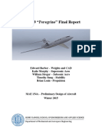 Aircraft Design Report