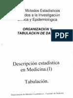 02 Organización y Tabulación de Datos