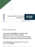 Conocimiento y Virtud Intelectual 1