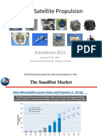 AstroRecon 2015 SmallSat Propulsion Dankanich