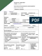 Formulario de Recoleccion de Datos Amie 16-17 1