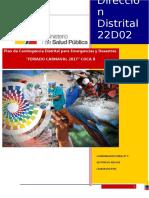 Plan de Contingencia Distrital Feriado Carnaval