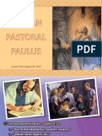 3q Lesson 9 - Seruan Pastoral Paulus