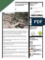 Arqueólogos Escavam o Que Poderá Ser a Cidade Bíblica Betsaida - Últimos Acontecimentos