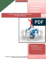 Cadena de Distribucion Fisica Internacional