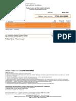 Invoice ITFRE00008405
