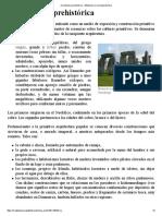 Arquitectura Prehistórica