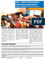 Europe Mediterranean Migration Crisis Response Situation Report 16 June 2016