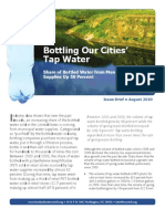 Bottling Our Cities' Tap Water