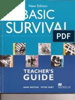 New Edition Basic Survival - Teacher's Guide