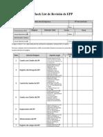 Check List de Inspección de EPP (Administrativo)v.2