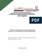 Estructura para proyecto GUIA