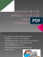 Análisis de Los Supuestos de Los Ojetivos Conductuales (1)