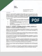 Ordenanza Municipal n.°9 sobre patentes de alcoholes y horario de funcionamiento